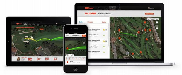 NFC Game Golf Live GPS Real Time Tracking System Application