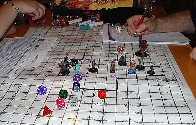 Dungeons and Dragons Game Perfect Together By NFC and Board Games