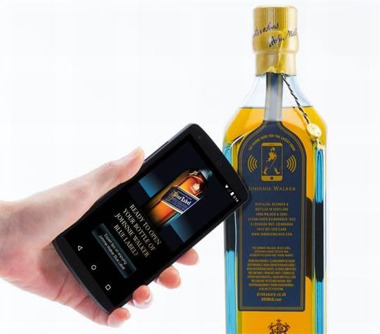Importing Liquor & Drinking Original Brand Check System From NFC End User