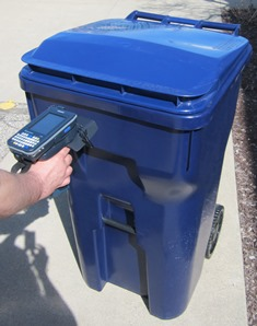 Waste Bin RFID Indetification & Management Application