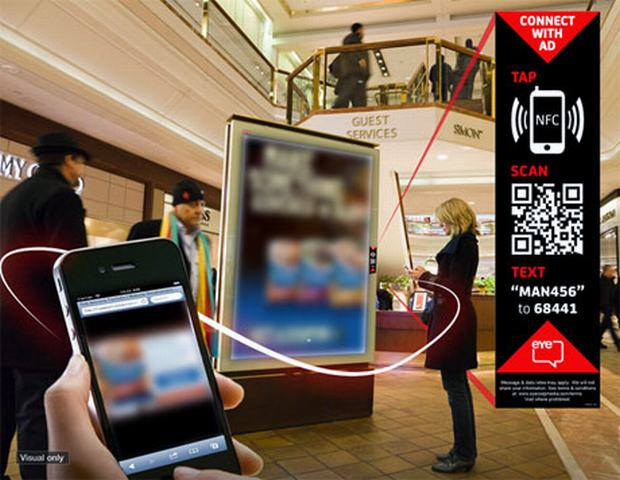 NFC Marketing - Mobile label tag