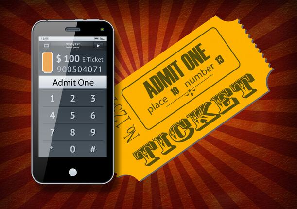 NFC Ticket Application For One Time Admit