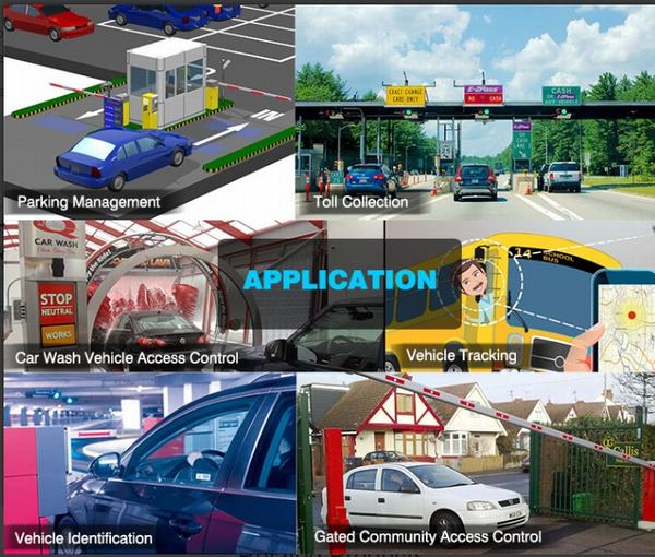 RFID Vehicle Application Completed System Solution Parking ETC Payment