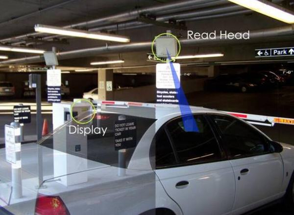 RFID  tag Vehicle Parking System