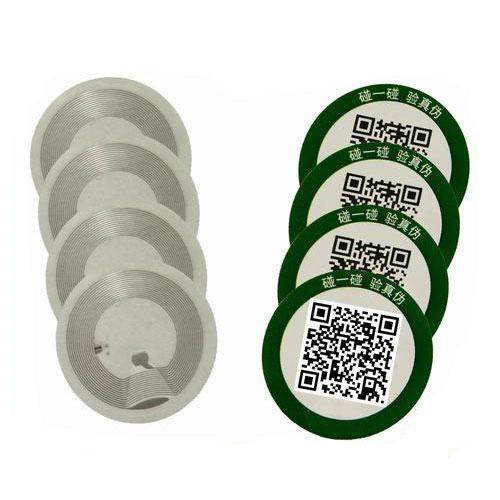 HY150007A HF NFC Brittle Label Sticker Security Check