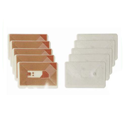 Fragile RFID NFC paper copper one time used sticker