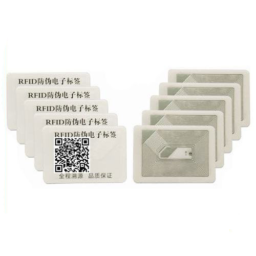 RFID HF tamper proof patient case traceability label sticker