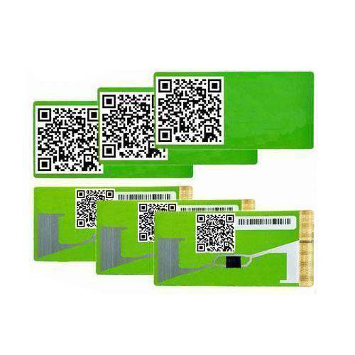 UHF Outdoor RFID Tag Anti Removal Label Parking System