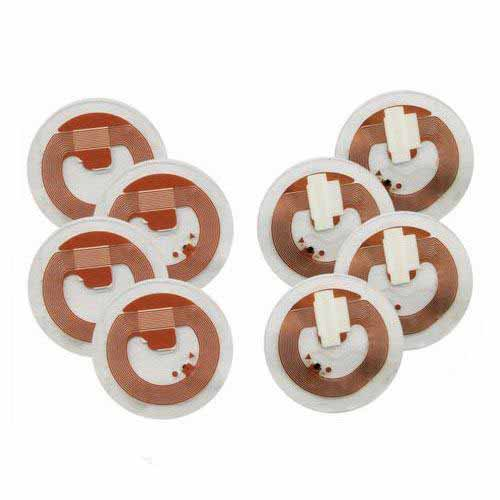 HP150113A RFID NFC Security Sticker Copper Tamper Proof Tag