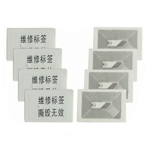 Blank Invoice Ticket RFID Certificate Label