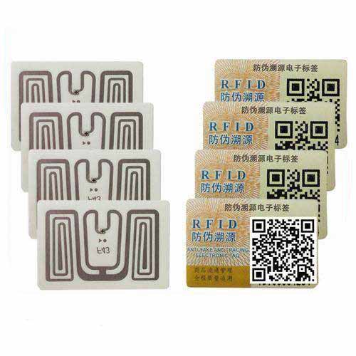 UHF Passive RFID Tag Low Cost Apparel Printable Label