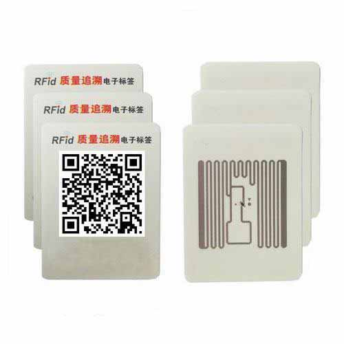 Tamper evident rfid uhf tag for product tracking