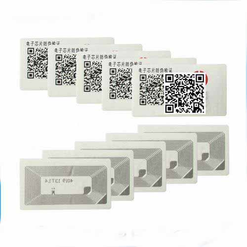 RFID security electric asset identification NFC label