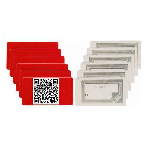RFID label for logistic and assets management