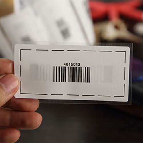 UHF Woven clothing tag label
