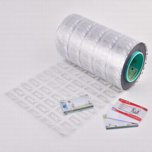 HF UHF Wet Inlay RFID HF NFC Copper Fragile Paper Label