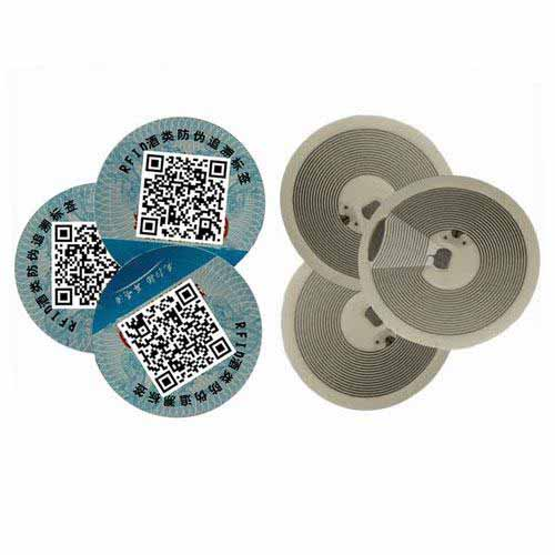 NFC Label Tamper Proof NFC File Seal Security tag