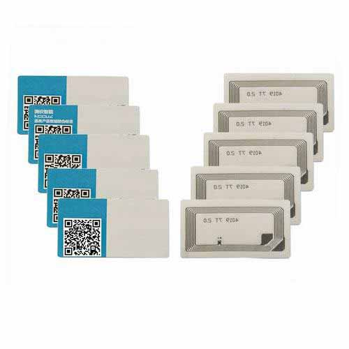 HY160015A RFID Non-transferable Security Certification tags
