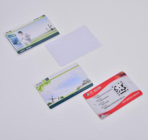 UHF passive colorful printable barcode standard card