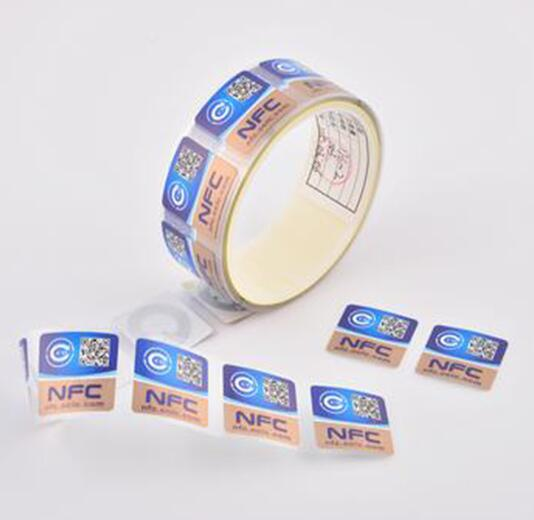 NFC anti-counterfeiting traceability seal tag sticker