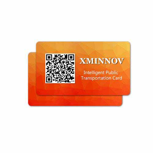 RD170031 Intelligent Card Both NFC RFID G2V2 PVC Card