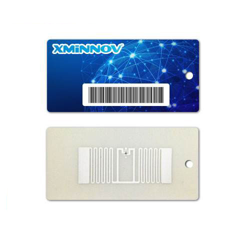 RFID Garment Tag Hanging Tag Clothes Sticker 40x60mm