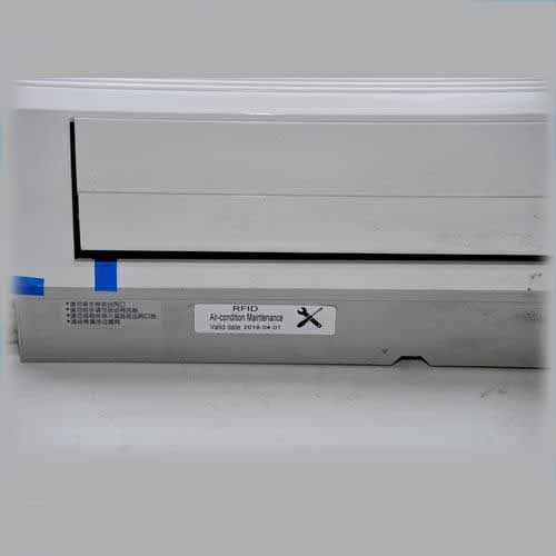RFID air conditioner maintenance tag