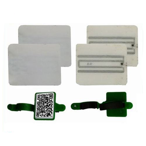 UP140028A Customized RFID animal foot wearable tag for animal management