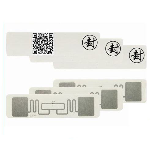 UY130112A RFID Liquor Seal Label Collection Tag