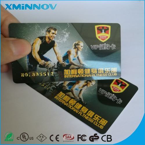RFID UHF Member Smart Card For Gym Access Control