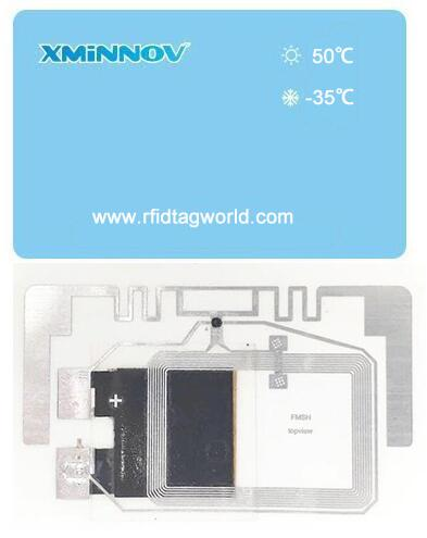 RFID Dual-frequency Temperature Sensor Tag